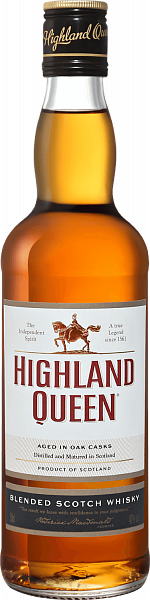 Highland Queen Blended Scotch Whisky, 0.5л