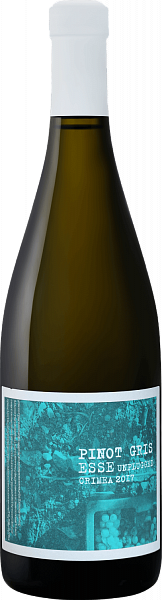 Esse Unplugged Pinot Gris Satera, <label> 0.75л</label>