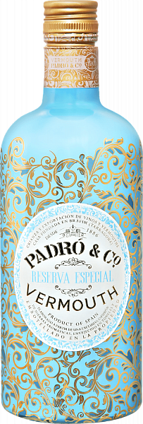 Padró & Co. Reserva Especial Vermouth,  0.75л