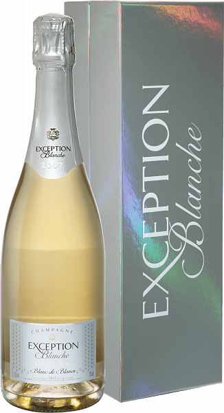 Mailly Grand Cru Exception Blanche Blanc De Blancs Millesime Champagne AOC (gift box), 0.75л