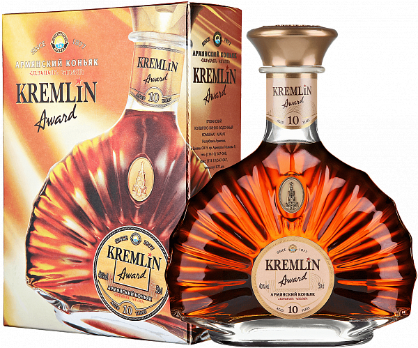 KREMLIN AWARD 10 Years (gift box), 0.5л