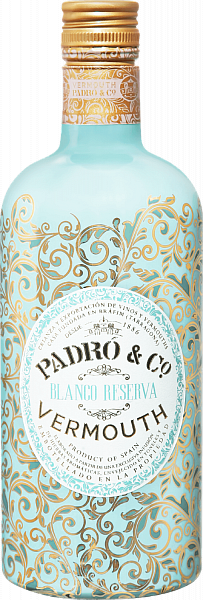 Padró & Co. Blanco Reserva Vermouth, 0.75л